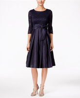 Jessica Howard Sequined Lace A-Line Dress
