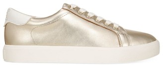 Sam Edelman Ethyl Metallic Leather Sneakers