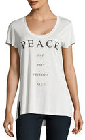 Ppla Peace Short Sleeve Graphic Tee