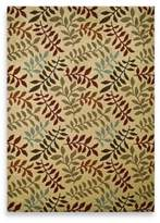 Bed Bath & Beyond Concord Global Leafs 5-Foot 3-Inch x 7-Foot 3-Inch Rug in Ivory