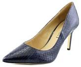 Via Spiga Carola Women Pointed Toe Leather Blue Heels.