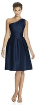 Alfred Sung D458 Cocktail Bridesmaid Dress In Midnight