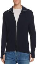 Rag & Bone Jayden Wool Blend Zip Up Sweater