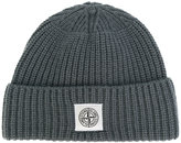 Stone Island ribbed knitted beanie - men - Polyamide/Wool - One Size