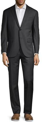 Corneliani Classic Fit Striped Wool Suit