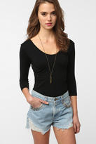 Urban Outfitters Coincidence & Chance Seamless 3/4 Sleeve Top
