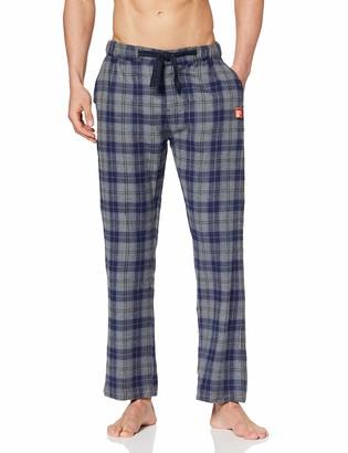 Superdry Men's Laundry Flannel Pant Pajama Bottom