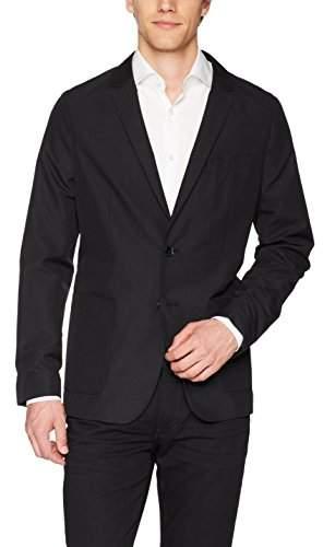 Calvin Klein Men's Packable Seersucker Blazer Jacket