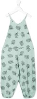 Bobo Choses pineapple print jumpsuit