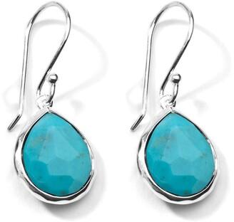 Ippolita mini Rock Candy Teardrop turquoise earrings