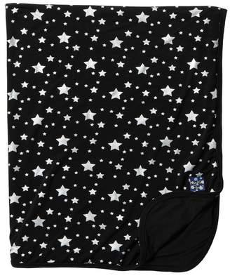 Kickee Pants Printed Ruffle Stroller Blanket