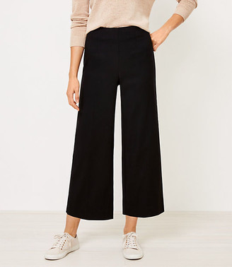 LOFT Wide Leg Crop Pants