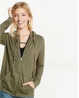 Express one eleven zip front hoodie