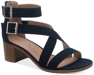 Sun + Stone Quinn Block-Heel City Sandals, Created for Macy's Women's Shoes