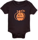 Beary Basics Black 'My First Halloween' Bodysuit - Infant