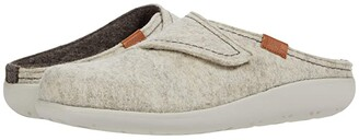 Samuel Hubbard Hubbard Dreams Adjustable Clog (Oatmeal Heather/Brown Heather) Women's Shoes