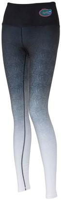 Women's ZooZatz Black/White Florida Gators Geometric Print Ombre Leggings