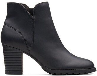 Clarks Verona Trish Ankle Boots with High Heel