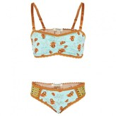 Scotch R'Belle Tiger Print Bra and Knickers Set