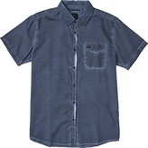 RVCA Men's Cold Ones Short Sleeve Woven Shirt