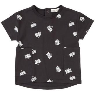 Miles Baby Market Dress Black 12 Months