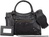 Balenciaga Classic Mini City Bag, Black
