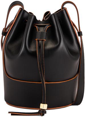 Loewe Balloon Small Bag in Black | FWRD