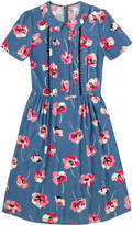 Cath Kidston Poppy Spot Viscose Dress