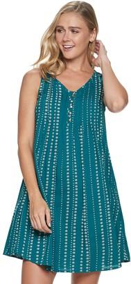 Sonoma Goods For Life Women's Pintuck Sleeveless Dress