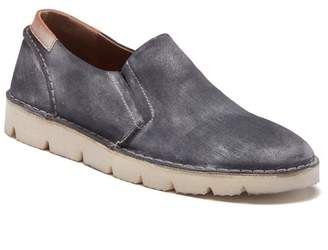 ROAN Cal Leather Slip-On Sneaker