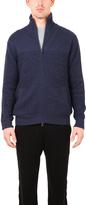 Blue & Cream Blue&Cream Chunky Thermal Zip Sweater