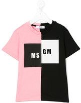 MSGM branded T-shirt - kids - Cotton - 4 yrs