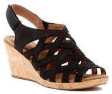 Rockport Briah Woven Black Wedge Sandal