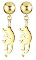 Oscar de la Renta Small Monkey Earrings