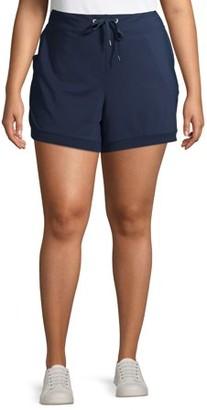 Avia Women's Plus Size Active Running Shorts