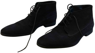 Christian Dior Black Suede Boots