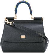 Dolce & Gabbana mini Sicility tote - women - Leather - One Size
