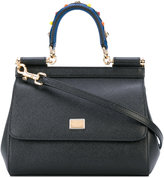 Dolce & Gabbana mini Siciliy tote - women - Leather - One Size