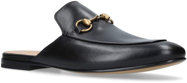 Gucci Backless Princetown Loafers