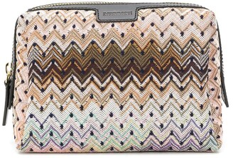 Missoni Zig-Zag Embroidered Clutch Bag