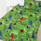 Happy Kids Footy Glow in the Dark Quilt Cover Set, Double