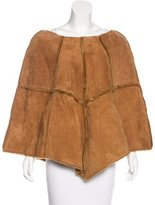 UGG Patched A-Line Poncho