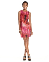 Spense 14665 Multi-Colored Jewel Sheath Dress