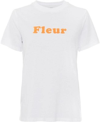 French Connection French Slogan Fleur T-Shirt