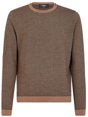 Fendi Fleece Wool FF Sweater