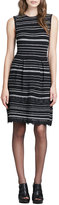 Nanette Lepore Decadence Striped Shift Dress