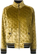 Maison Margiela quilted bomber jacket - women - Silk/Viscose - 40