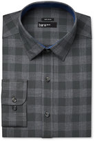 Bar III Men's Slim-Fit Wear Me Out Olive Oversize-Gingham Dress Shirt, Only at Macy's