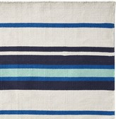 Williams-Sonoma Williams Sonoma Strata Stripe Indoor/Outdoor Rug, Navy