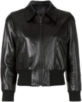 Prada cropped bomber jacket